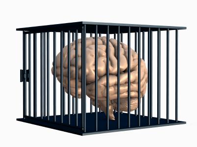 Brain in prison